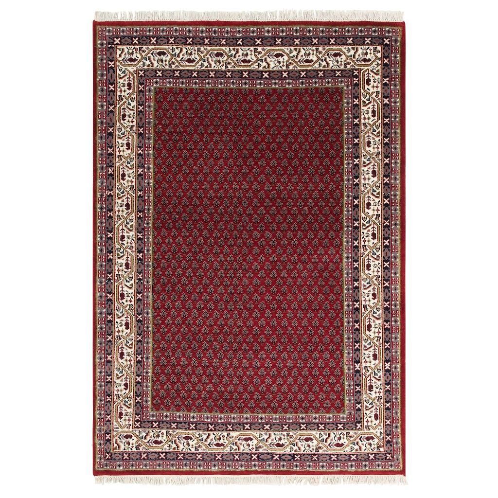 DELAVITA Wollteppich »Javid Mir«, rechteckig, 16 mm Höhe, reine Wolle, Wohnzimmer