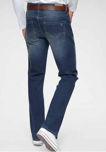 H.I.S Bootcut-Jeans »BOOTH«, Nachhaltige, wassersparende Produktion durch OZON WASH kaufen