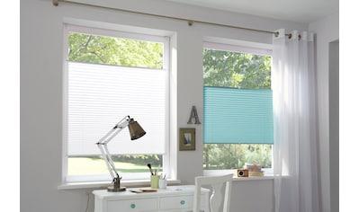 K-HOME Plissee »Klemmfix Pisa«, Lichtschutz, ohne Bohren, verspannt, Crushed-Optik kaufen
