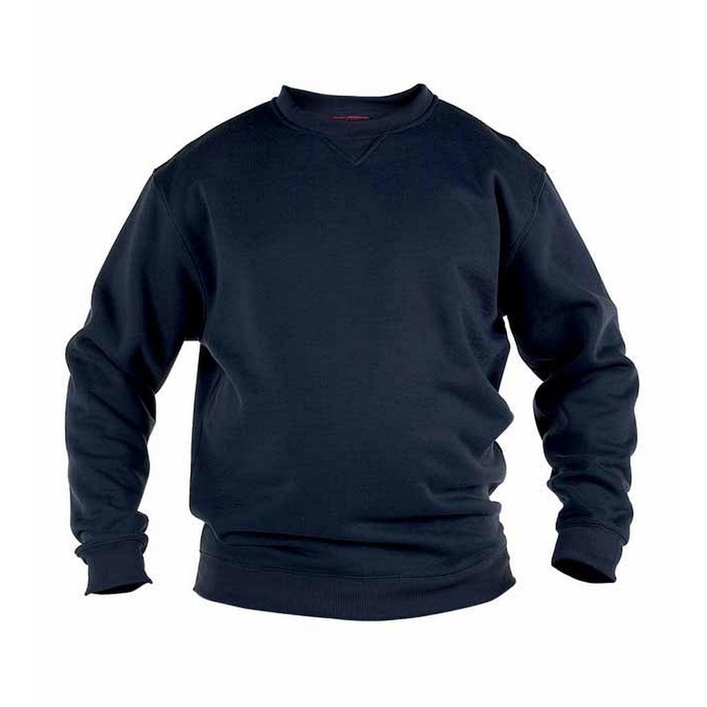 Duke Clothing Rundhalspullover »Herren Rockford Kingsize Sweat Pullover«