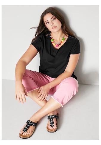 Angel of Style by HAPPYsize Shirt mit Spitze kaufen