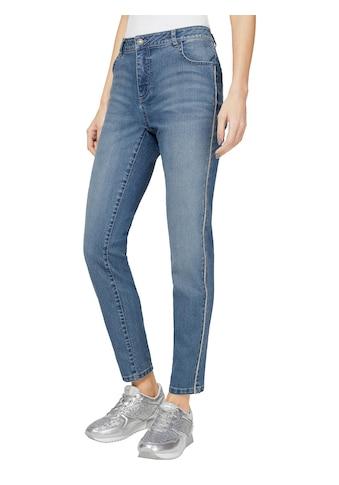 Classic Inspirationen Jeans in knöchelfreier 5 - Pocket - Form kaufen