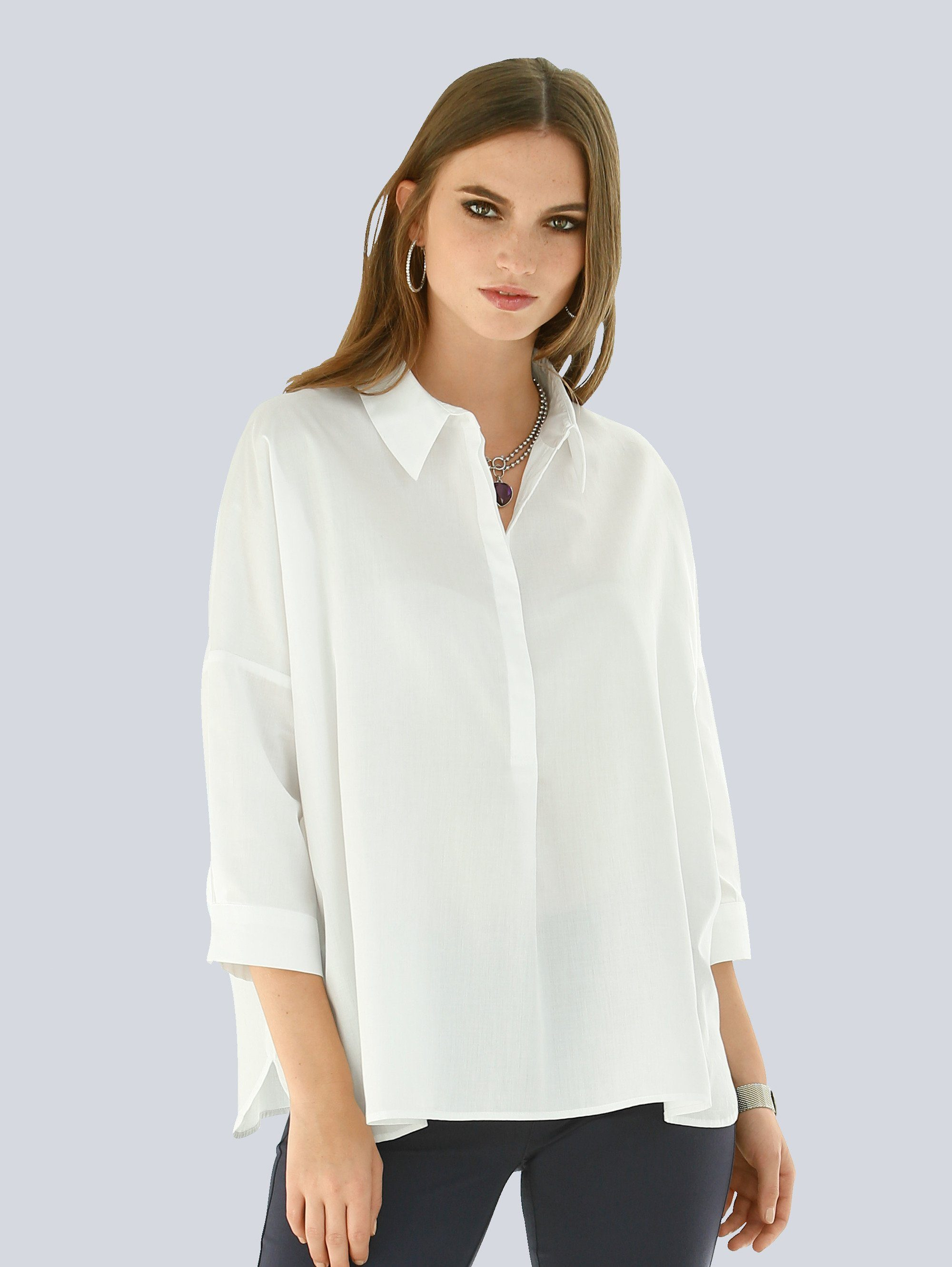 Alba Moda Bluse in Oversized-Form