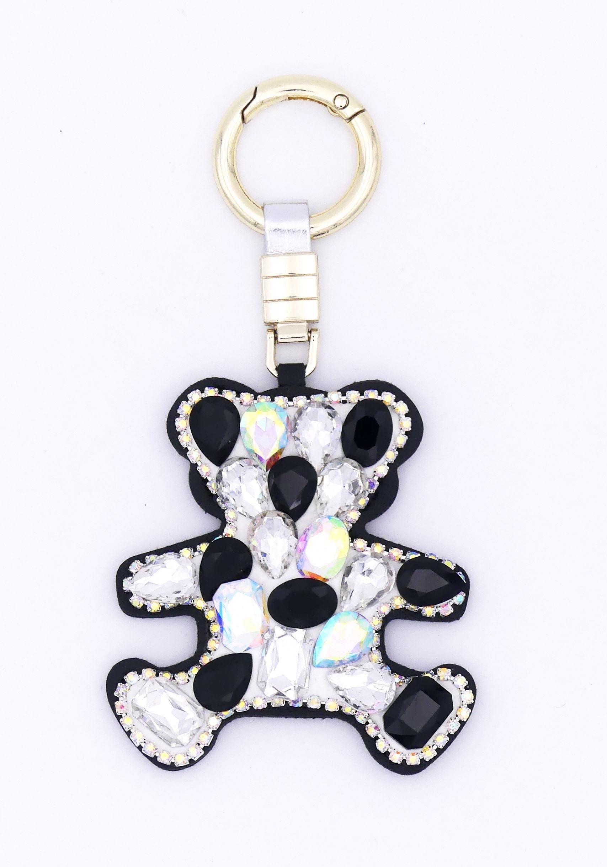 J.Jayz JJayz Schlüsselanhänger mit süßem Teddybär Damenmode/Schmuck & Accessoires/Accessoires/Schlüsselanhänger