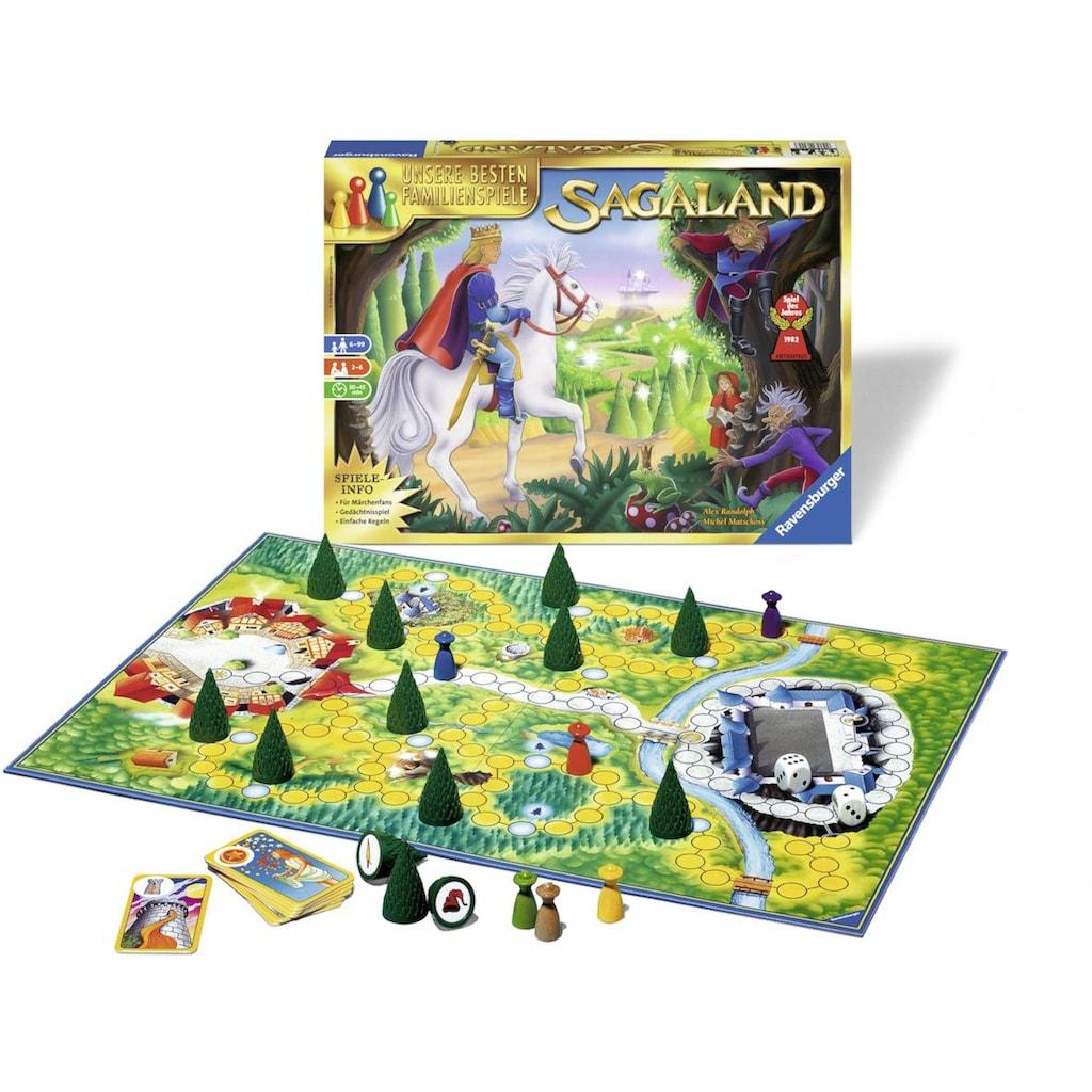 Ravensburger Spiel »Sagaland«, Made in Europe, FSC® - schützt Wald - weltweit