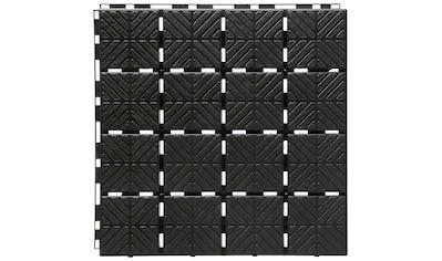 Prosperplast Terrassenplatten »Easy square S411«, Klickfliesen kaufen
