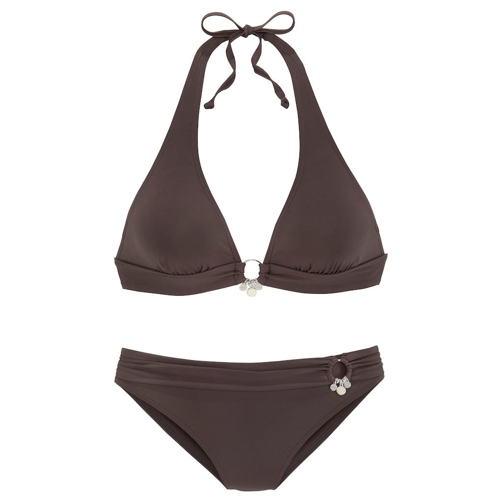 s.Oliver Triangel-Bikini, mit Accessoires