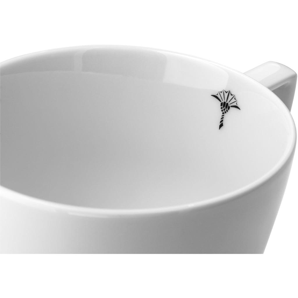 Joop! Tasse »JOOP! SINGLE CORNFLOWER«, (Packung, 2 tlg.), mit einzelner Kornblume als Dekor