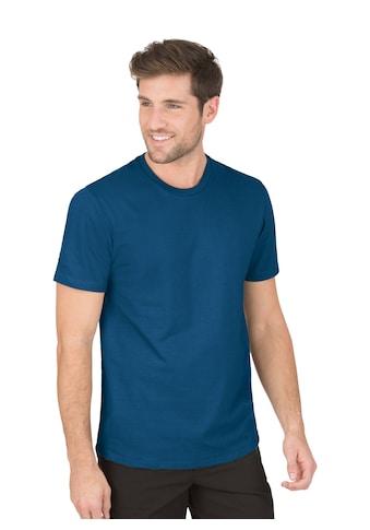 Trigema T-Shirt aus 100% Biobaumwolle kaufen