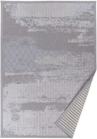 andas Teppich »Marit«, rechteckig, 7 mm Höhe, Wendeteppich mit zwei Designs, Wohnzimmer kaufen