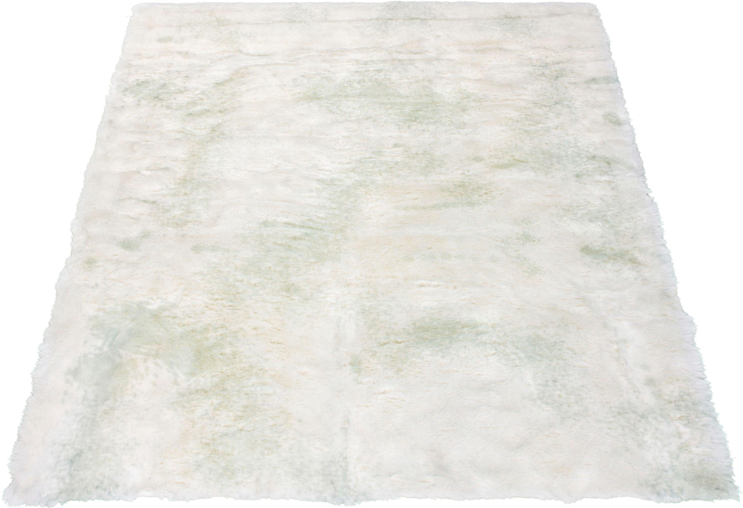 Fellteppich Marta Leonique rechteckig Höhe 55 mm handgetuftet