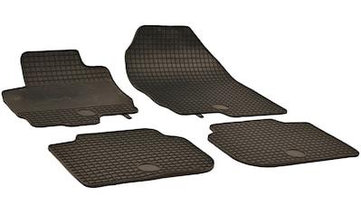 WALSER Passform-Fußmatten, Mitsubishi, Colt, Schrägheck, (4 St., 2 Vordermatten, 2... kaufen