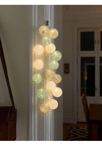KONSTSMIDE LED-Lichterkette, 16 St.-flammig, LED Dekolichterkette,... kaufen
