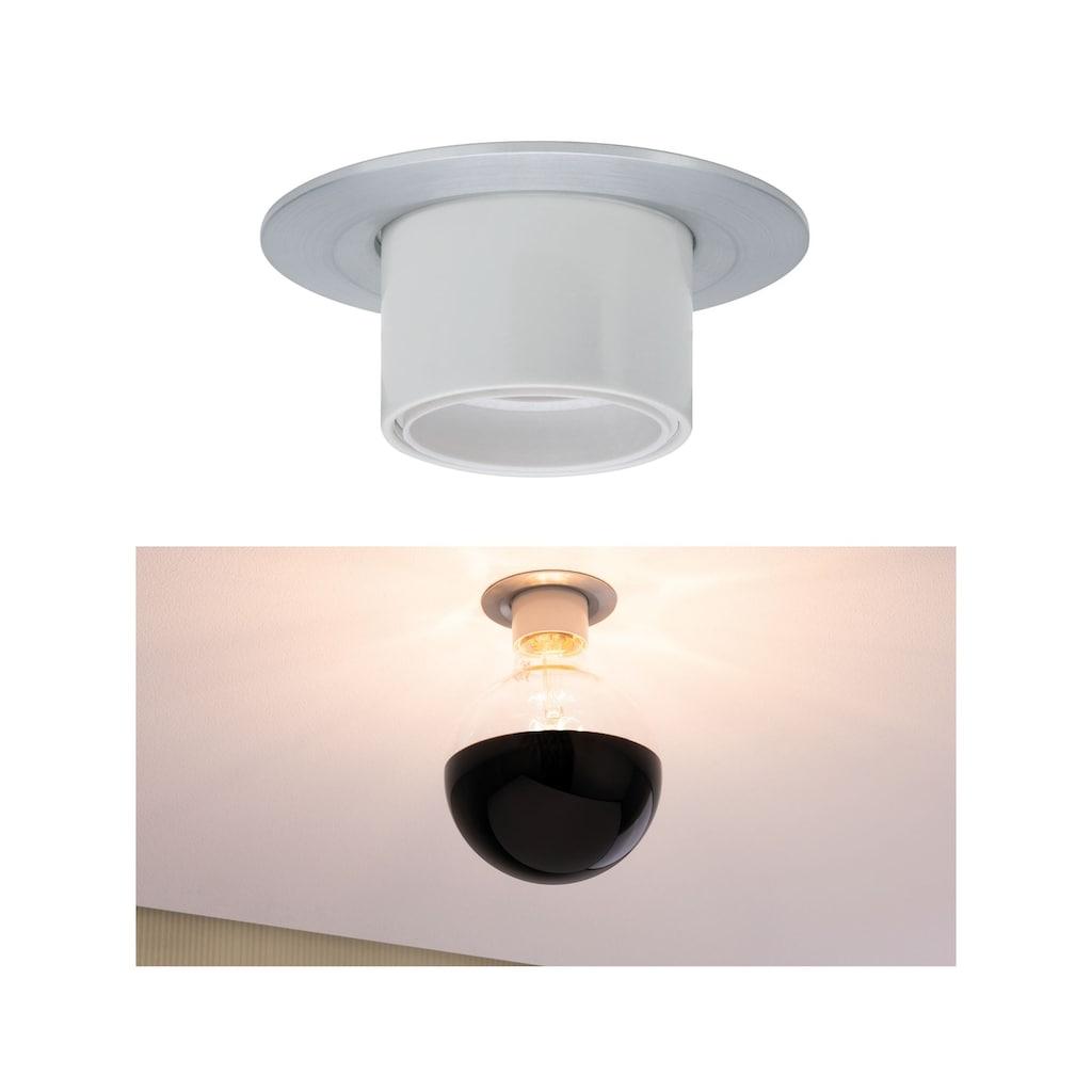 Paulmann LED Einbaustrahler »Nova Retro E27 max 10W Alu gedreht«, E27