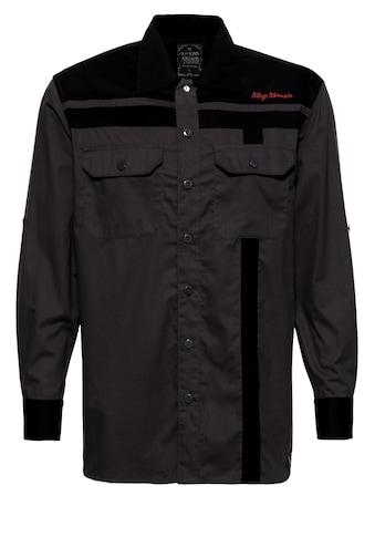 KingKerosin Langarmhemd »Roadsters Oil«, mit Stickereien kaufen