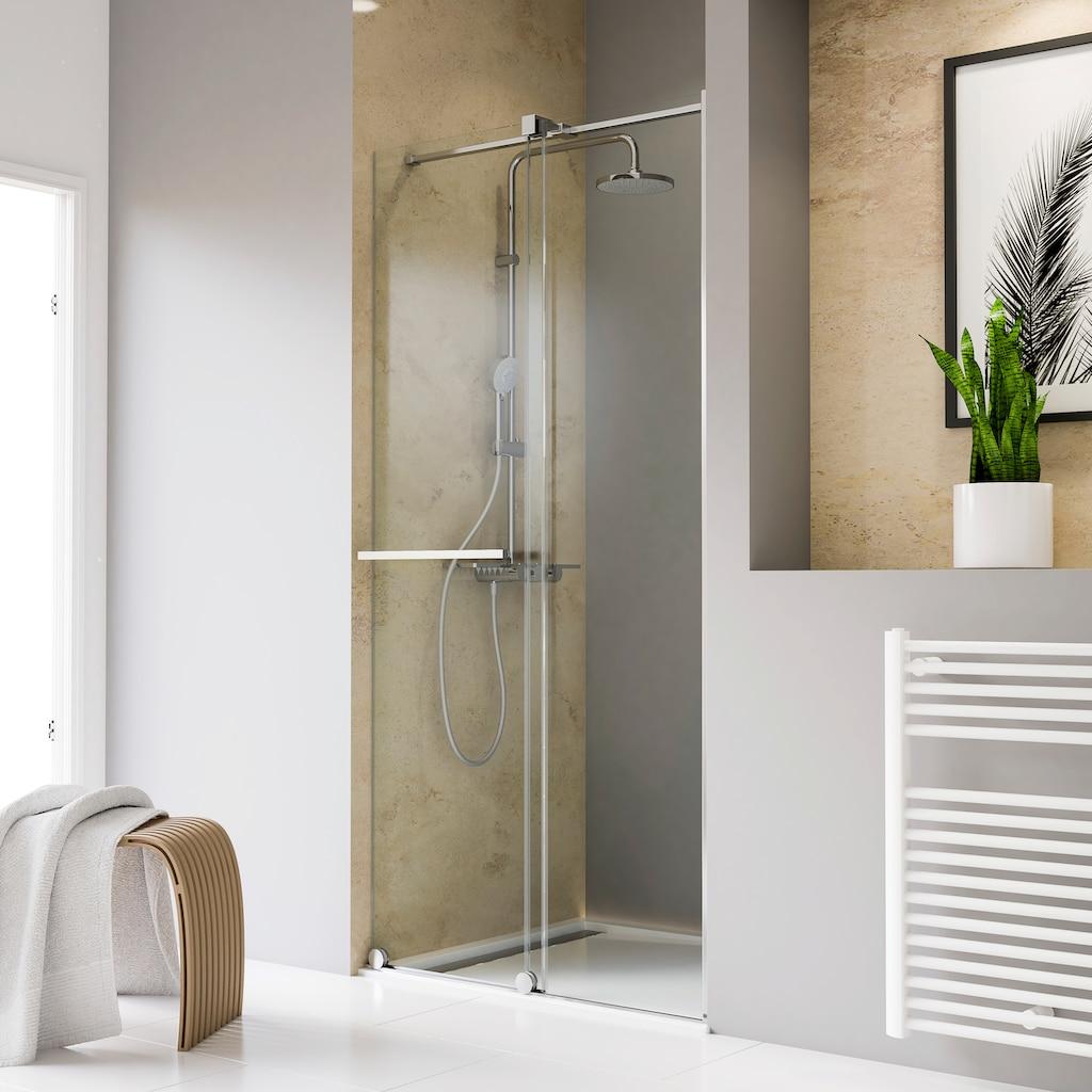 Schulte Dusch-Schiebetür »Toura«, mit hochwertigen Aluminiumprofilen