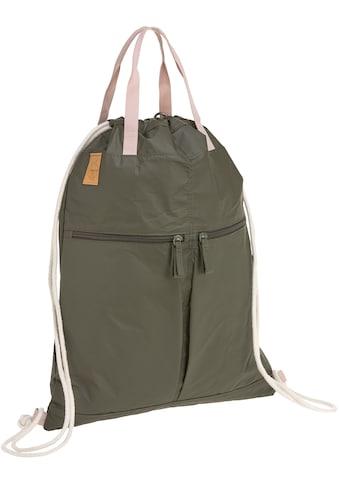 Lässig Kinderwagen-Tasche »Green Label, Tyve String Bag olive«, inkl. Kinderwagenbefestigungen kaufen
