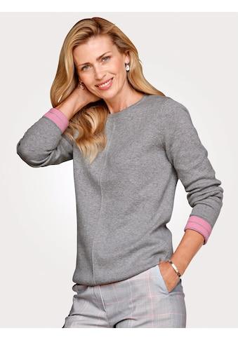 Mona Pullover in Kontrast - Verarbeitung kaufen