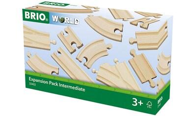 BRIO® Gleise-Set »Brio WORLD Mittleres Schienensortiment«, (Set), Ergänzungsset BRIO®... kaufen