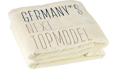 Wohndecke »GNTM«, Germany's Next Topmodel kaufen