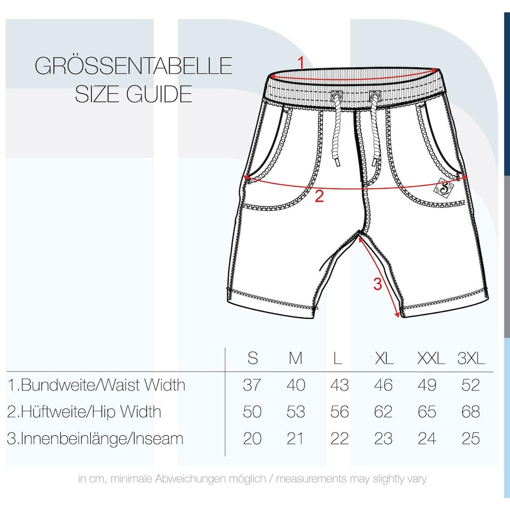 Solid Sweatshorts »Aris«, kurze Hose mit Kontrastkordeln