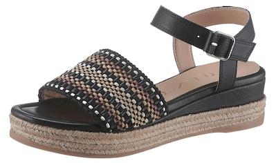 Unisa Sandalette »Giro«, mit Ethno-Muster kaufen