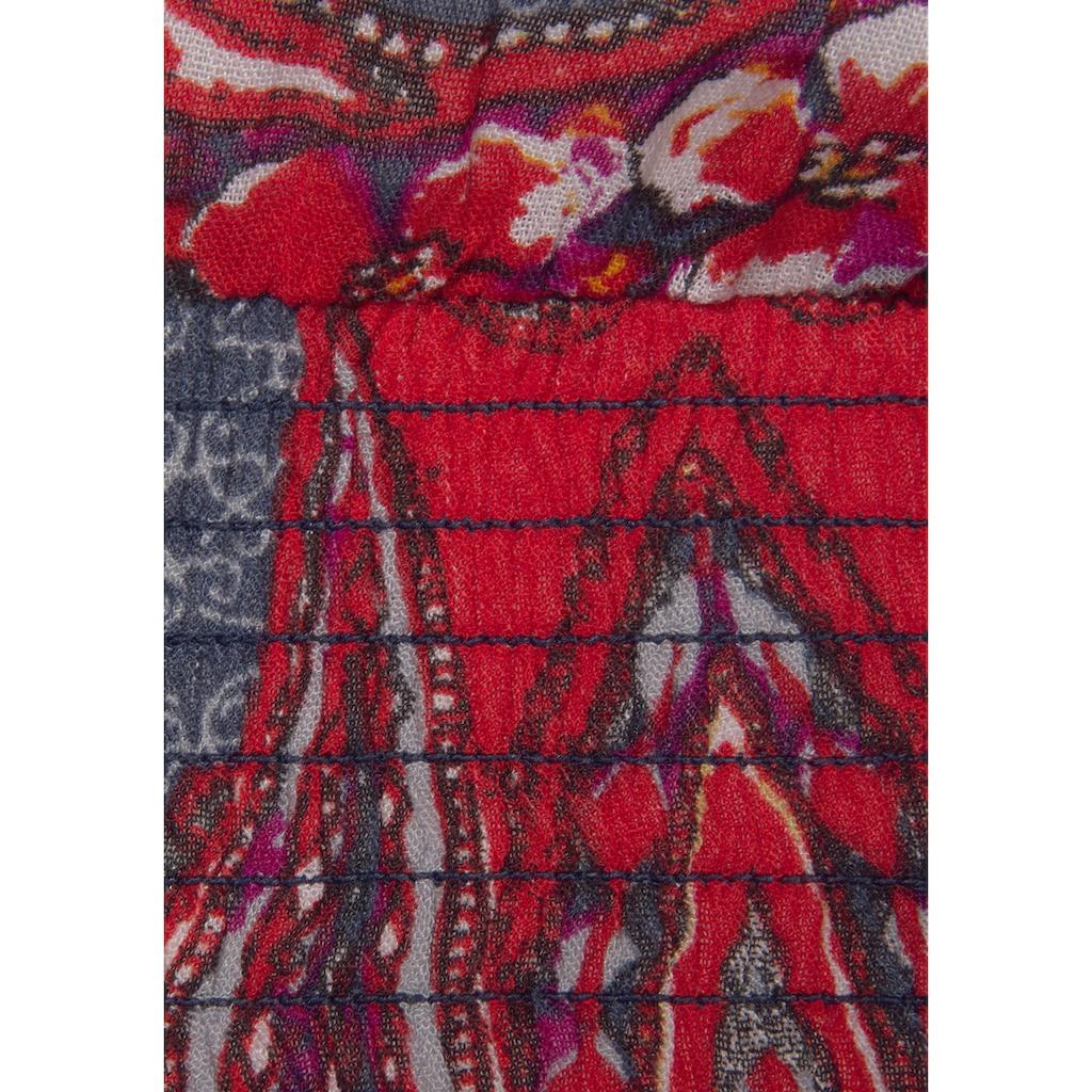 LASCANA Druckbluse, mit Paisleyprint