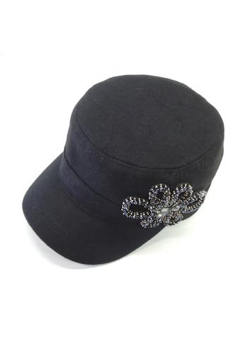 Chaplino Army Cap, mit schöner Strassapplikation kaufen