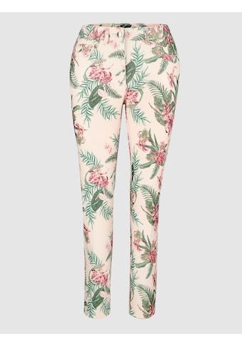 Laura Kent 3/4 Hose in floralem Druckdessin kaufen