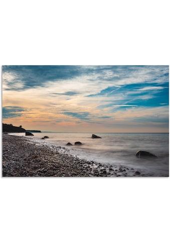 Artland Wandbild »Steine an der Ostseeküste bei Elmenhorst«, Küste, (1 St.), in vielen... kaufen