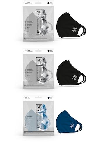 NEQI Mund - Nasen - Masken (Packung, 3 - teilig) kaufen