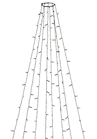 KONSTSMIDE LED-Lichterkette, LED Baummantel mit Ring für den Innenbereich, 8 Stränge à... kaufen