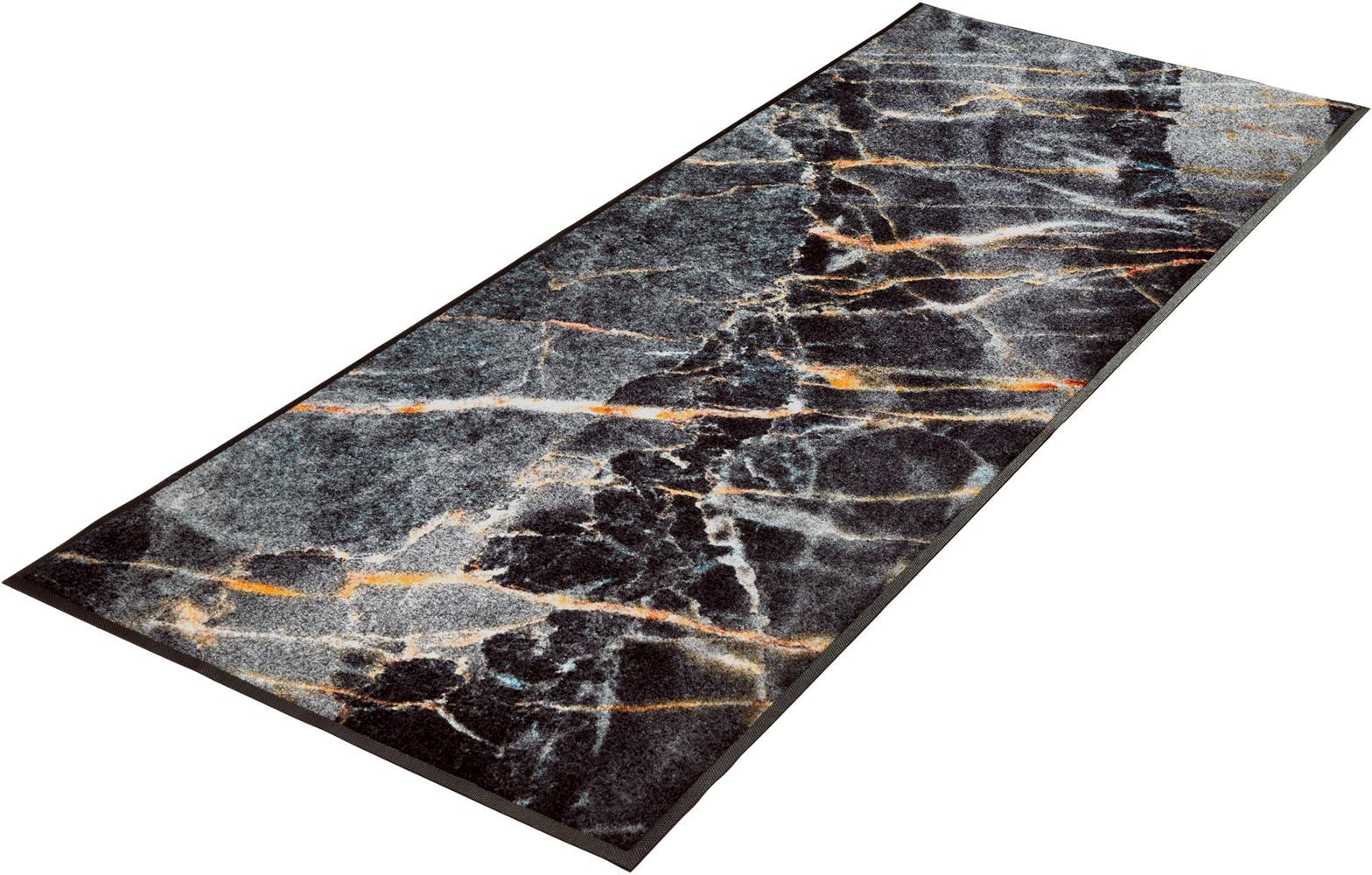 Läufer Mineral Stone wash+dry by Kleen-Tex rechteckig Höhe 7 mm gedruckt