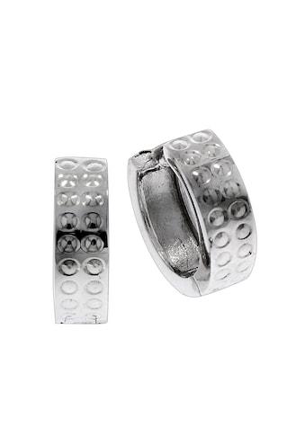 Vivance Klappcreolen »925/ -  Sterling Silber rhodiniert 1,2cm« kaufen