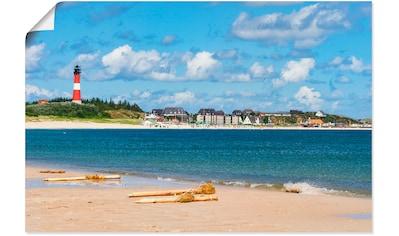 Artland Wandbild »Hörnum - Insel Sylt«, Strand, (1 St.), in vielen Größen &... kaufen