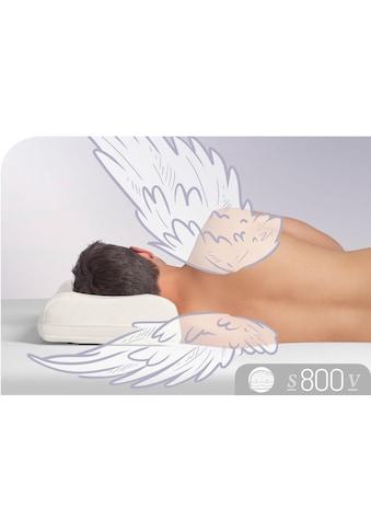 Nackenstützkissen, »S800 V«, Schlafstil, Füllung: Visco Premium Schaum RG 65, Bezug: 100% Baumwolle kaufen