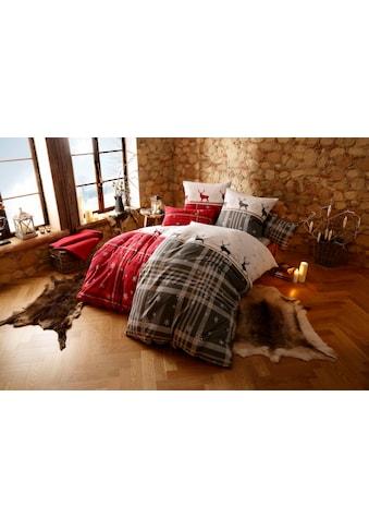 my home Bettwäsche »Wenda«, im winterlichen Karo-Design kaufen