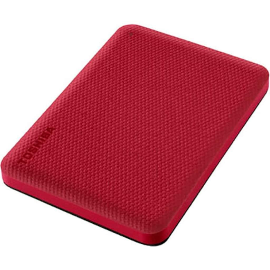 Toshiba externe HDD-Festplatte »Canvio Advance 2TB Red 2020«