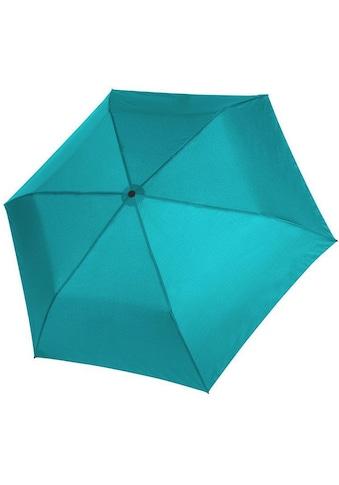 doppler® Taschenregenschirm »Zero 99 uni, Aqua Blue« kaufen