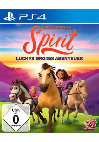 Outright Games Spiel »Spirit Luckys großes Abenteuer«, PlayStation 4 kaufen