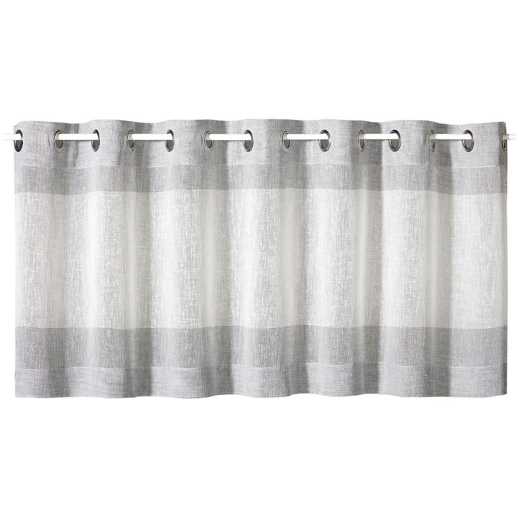 Gerster Scheibengardine »Sander«, HxB: 50x140, mit modernem Streifen Design
