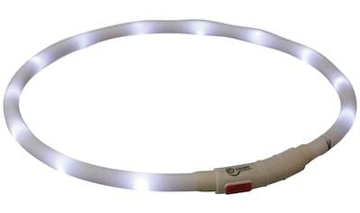 TRIXIE Hunde-Halsband »Flash USB«, Silikon-Kunststoff, 70 cm Länge, kürzbar, in versch. Farben kaufen