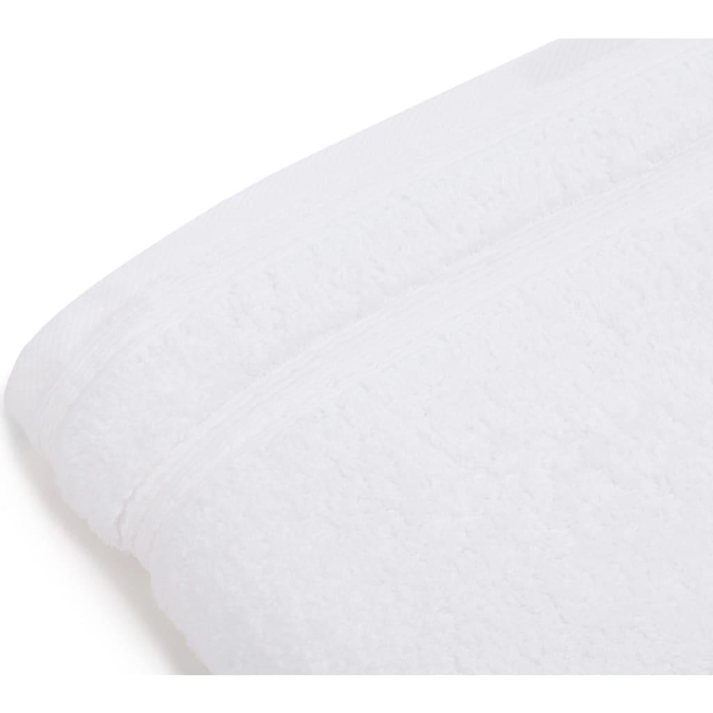 Gözze Handtücher »Monaco«, (2 St.), mit gewellter Bordüre