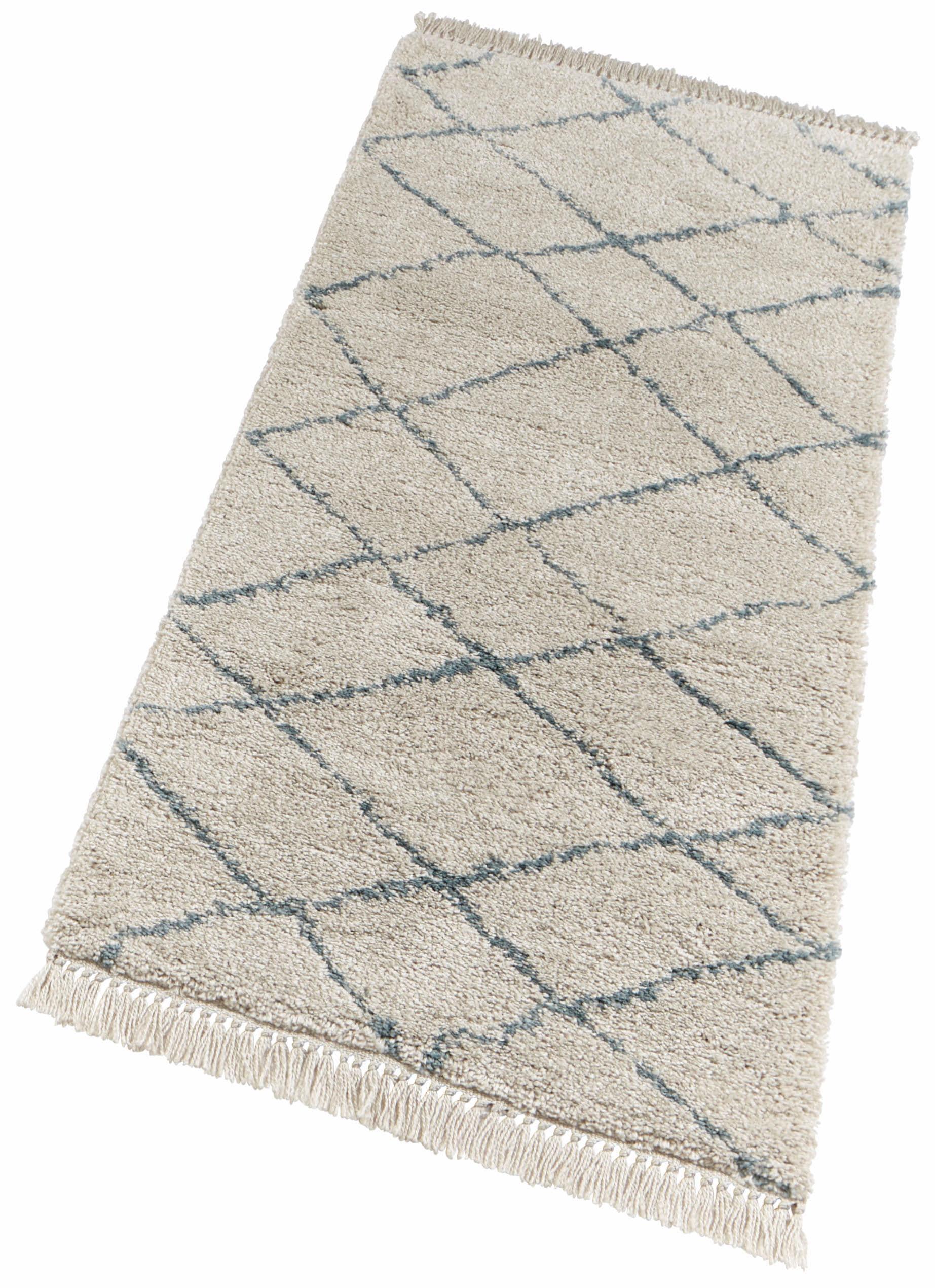 Hochflor-Läufer Primrose freundin Home Collection rechteckig Höhe 35 mm maschinell gewebt