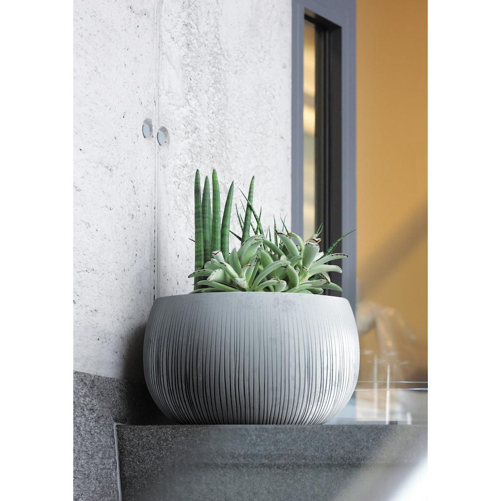 Prosperplast Blumentopf »Beton Bowl«, (1 St.), Ø48cm x 30cm