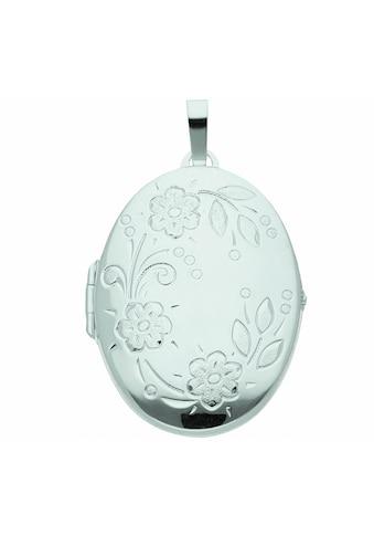 Adelia´s Kette mit Anhänger »925 Silber Medaillon Anhänger - Set mit Halskette«, 925... kaufen