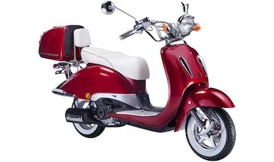 GT UNION Motorroller »Strada«, 125 cm³, 85 km/h, Euro 4, 8,6 PS, (Set), inkl. Topcase kaufen