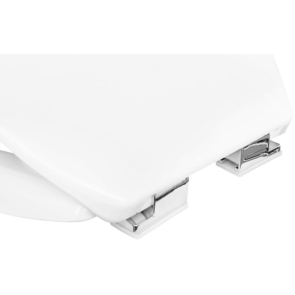 CORNAT WC-Sitz »Tarox«, Mit Absenkautomatik