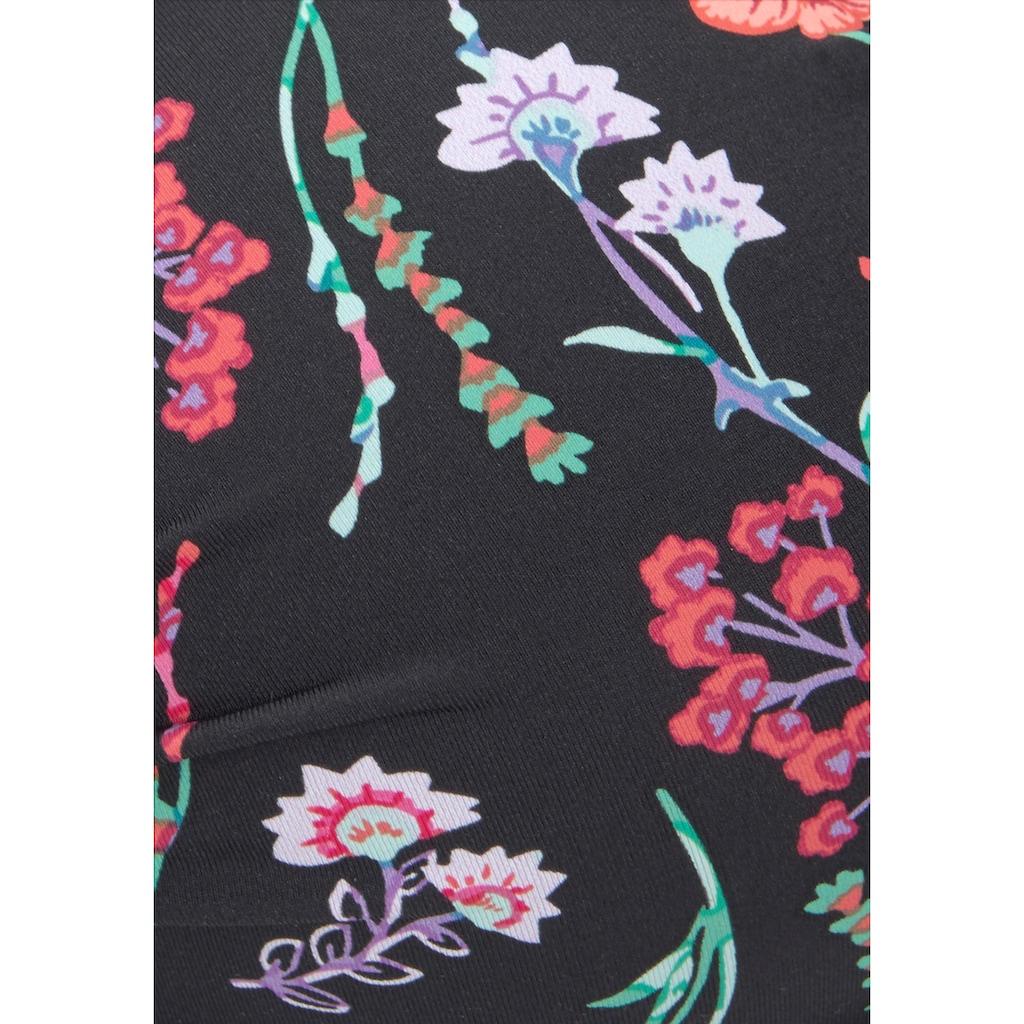 LASCANA Push-Up-Bikini-Top »Bloom«, in floralem Design