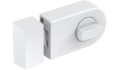 BASI Türzusatzschloss »Dornmaß 60 mm  -  weiß (abgerundet)«, Kastenschloss KS 500 kaufen